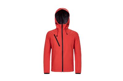 厂家定制智能加热单层冲锋衣加工生产